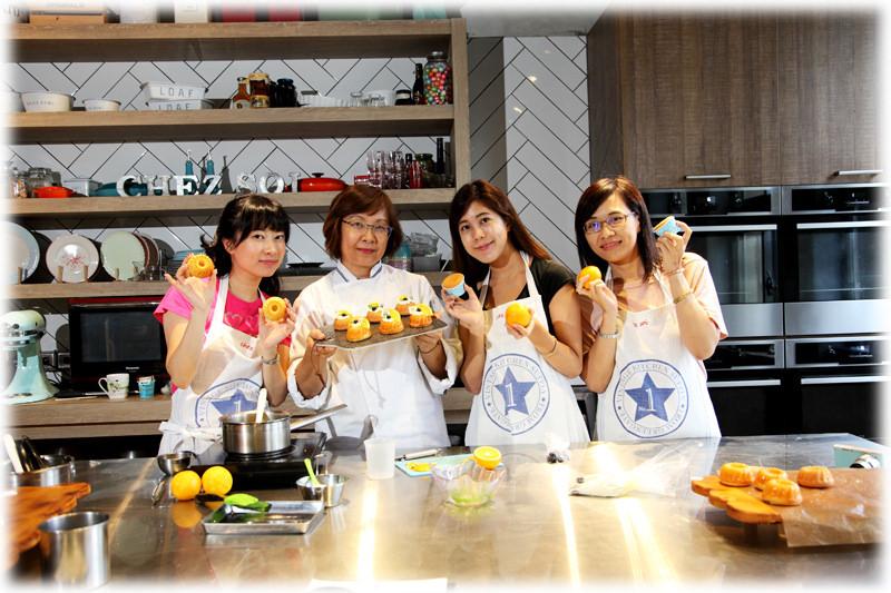 【部落客推薦】來手繹輕鬆學會秋日香橙薩瓦蘭蛋糕