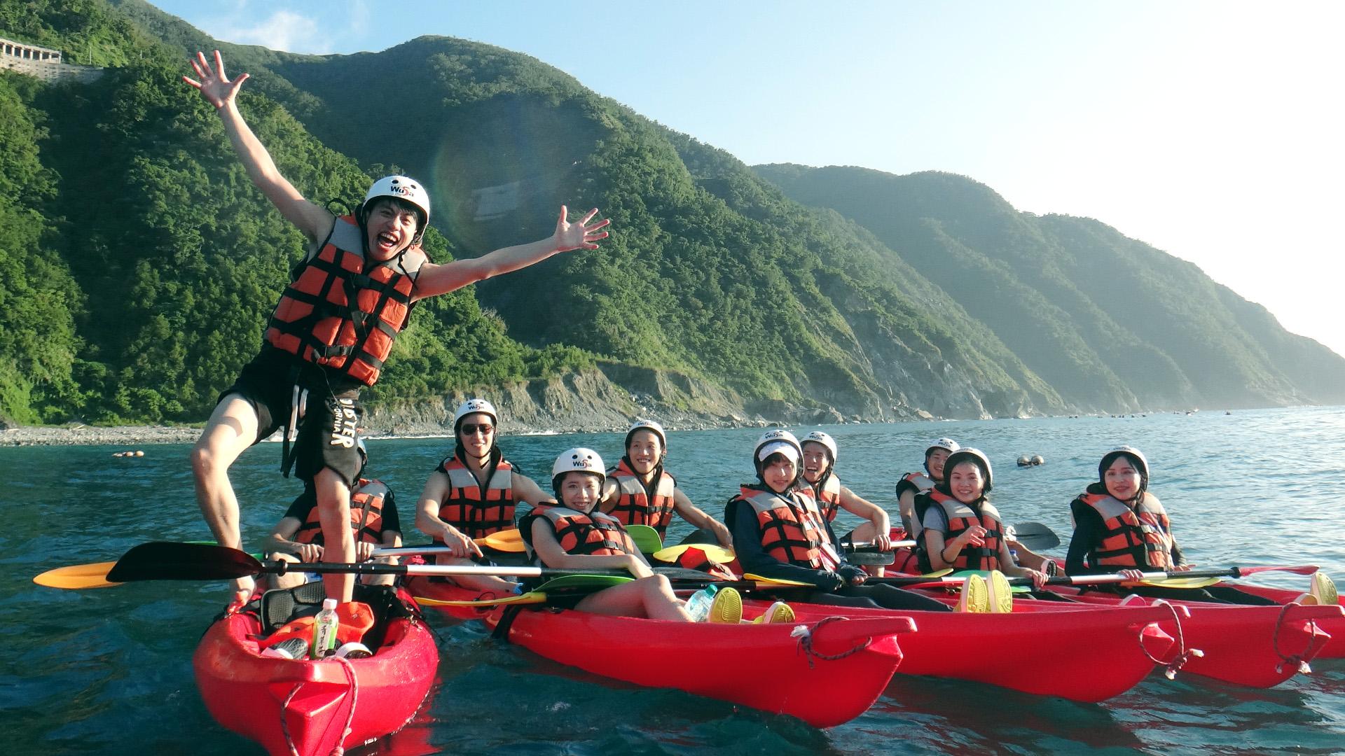 【獨木舟全台體驗特輯】台灣人一定要玩的 Kayaking・新手秘笈、景點推薦、特色玩法報你知!